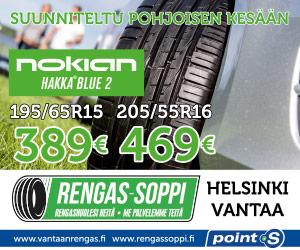 Nokian Hakka Blue 2 | Testivoittaja