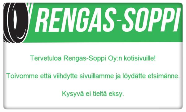 Tervetuloa Rengas-Soppiin.