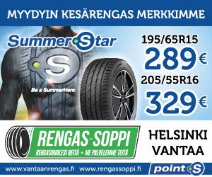 points summerstar 3+ tarjous