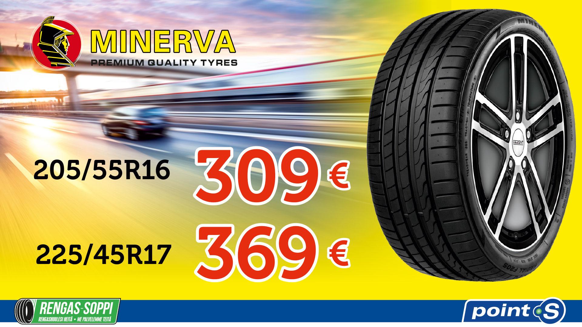 Minerva F205 | Kun hinta ratkaisee
