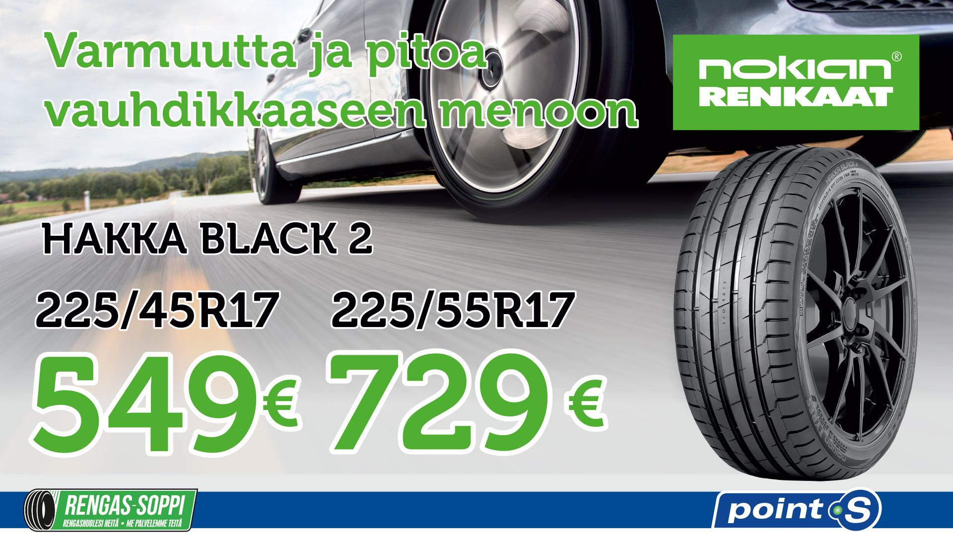 Nokian Hakka Black 2 | Äärimmäiseen ajoon