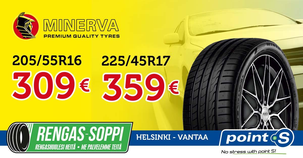 Minerva F205 | Jos hinta ratkaisee