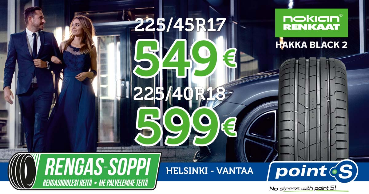 Nokian Hakka Black 2 | ELÄMÄSI VAUHDIKKAALLA MATKALLA