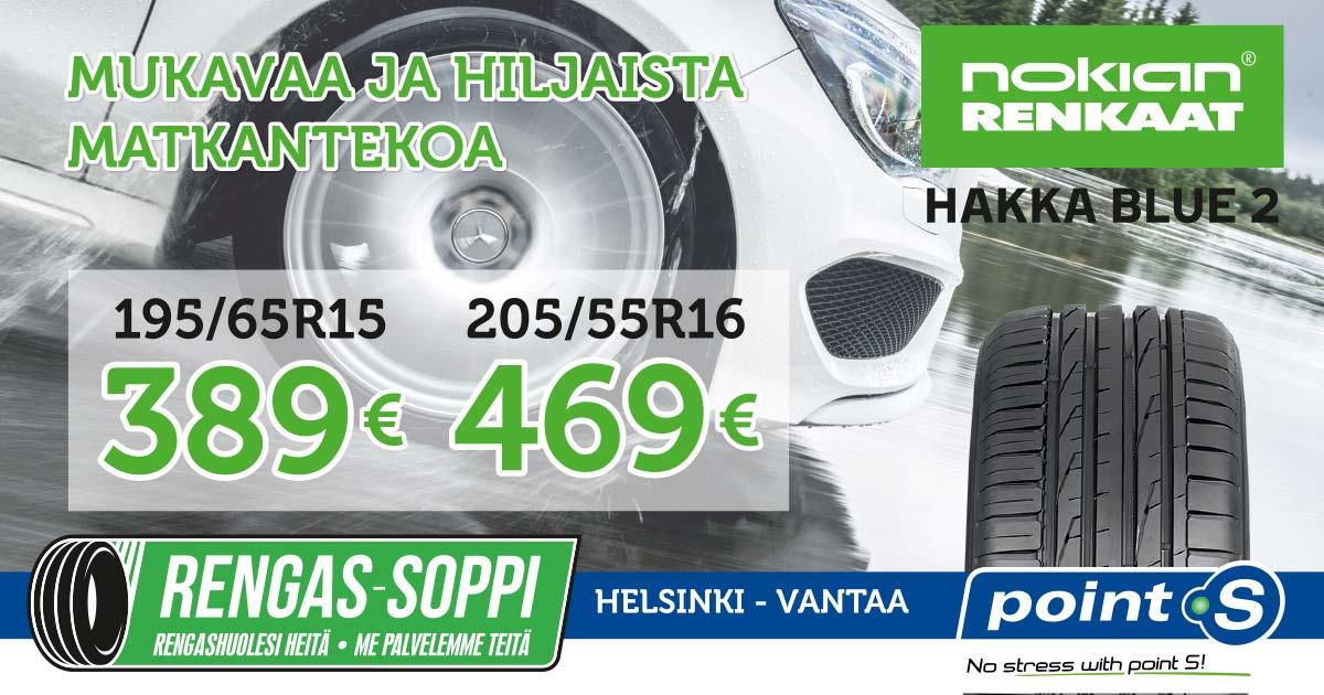 Nokian Hakka Blue 2 | ELÄMÄSI KÄTEVÄLLÄ MATKALLA