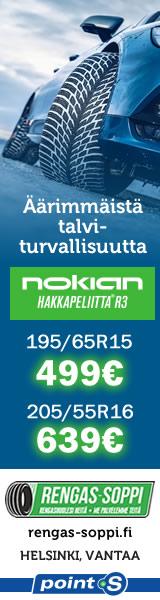 Nokian Hakkapeliitta R3 | Uutuus