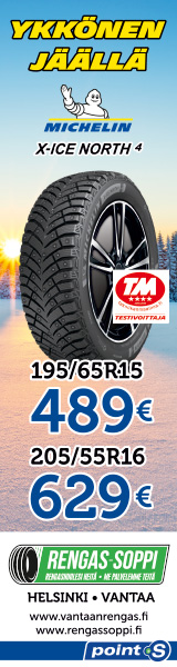 Michelin X-Ice North 4 | Testivoittaja