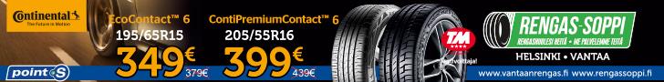 Continental ContiPremiumContact 6 | tarjous