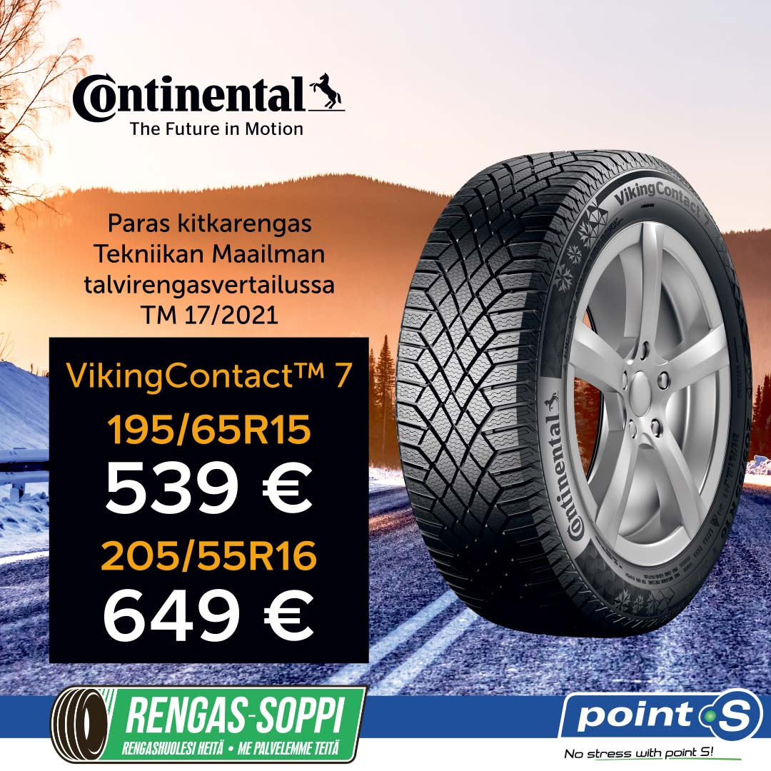 Continental VikingContact 7 | TESTIVOITTAJA